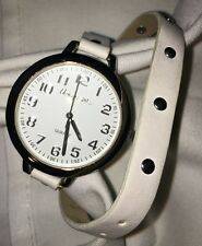 Aeropostale Leather White Wrap Band Watch