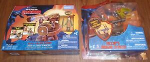 2 How to Train Your Dragon Toy Battle & Collapse Slingshot + Hiccups Striker New