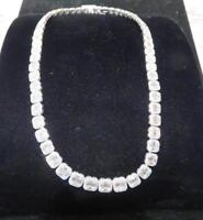 LIQUIDATION!$78000 CERTIFIED 18KT GOLD LRG 15CT GORGEOUS GRAND DIAMOND NECKLACE