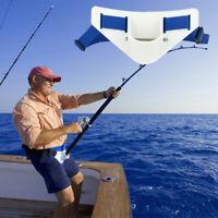 KQ_ Fishing Deep Sea Gimbal Waist Belt Prop Belly Top Iron Rod Holder Tool Surpr