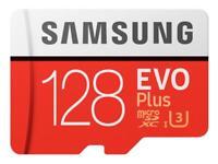 128GB SAMSUNG EVO PLUS Speicherkarte Micro SD Memory Card Karte CL10 MicroSDHC