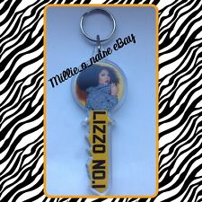 🆕 Lizzo Numberplate Style School Bag Tag Gift Present Keyring Keychain!