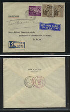 Mauritius  , Port  Louis registered  cover  to  US   1963                 At0618