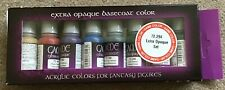 NEW Boxed Vallejo 72294 Extra Opaque Game Colour Paint Set Acrylic Colours