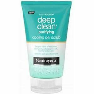 NEUTROGENA DEEP CLEAN PURIFYING COOLING GEL SCRUB 4.2oz