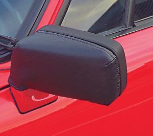 1974-1989 Porsche 911, 912, 924 Protective Mirror Masks Black Vinyl Covers