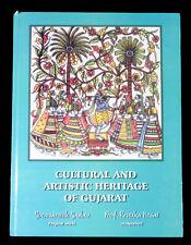 BOOK Cultural & Artistic Heritage of Gujarat India folk tales religion art dance