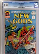 NEW GODS 7 CGC 8.0 WP 1st STEPPENWOLF JUSTICE LEAGUE MOVIE ORIGIN MISTER MIRACLE