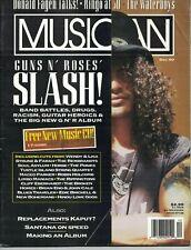 Musician Magazine 1990 Slash Guns N Roses Pixies Replacements Waterboys Beatles