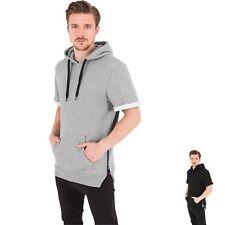 Individualisierte lange Herren-Kapuzenpullover & -Sweats mit Kurzarm