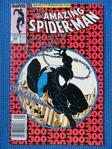 AMAZING SPIDER-MAN # 300 - (VF+) - MCFARLANE-ORIGIN/1ST APP VENOM -WHITE PAGES