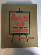 More details for artists '68 presented by j arthur dixon. christmas cards