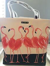 NWT Kate Spade Take A Walk On The Wild Side Flamingo Bon Shopper Tote Bag New