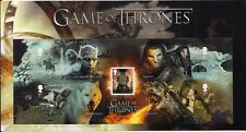 2018 GB QEII ROYAL MAIL COMMEMORATIVE STAMP SHEET SET GAME OF THRONES  MNH