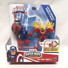 Marvel Super Hero Adventures Captain America & Falcon Playskool Heros