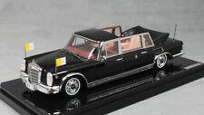 Truescale Mercedes-Benz 600 Pullman Landaulet Pope Paul VI 1965 TSM124352 1/43