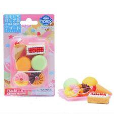 IWAKO Japanese Eraser Dessert Blister Pack (7pcs) ER-BRI019