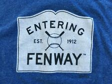 ENTERING FENWAY PARK T-Shirt XL Boston Red Sox Sully's Massachusetts TOWN SIGN
