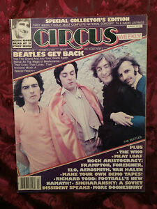 RARE CIRCUS Magazine October 3 1978 BEATLES WHO MEAT LOAF BOSTON ROBIN TROWER