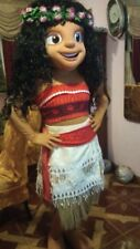 MOANA PRINCESS MASCOT COSTUME ADULT SIZE HIGH QUALITY PARTY HALLOWEEN COSPLAY