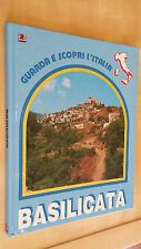 BASILICATA AMZ 1987 Collana Guarda e scopri l'Italia Illustrato