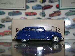 Brooklin 1/43 Scale BRK7 003 1934 Chrysler Airflow 4Dr Sedan Royal Blue