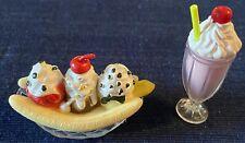 """18"""" Doll Milk Shake Banana Split Diner American Girl Our Generation Cherry Cream"""