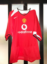 maglia shirt manchester united fc nr no number usata size XL perfetta nike