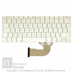 """Apple G4 A1054 1200 A1133 1330 12"""" 14'' 12.1"""" White Laptop Keyboard"""