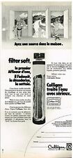 Publicité Advertising 1974 Le Traitement de l'eau Culligan