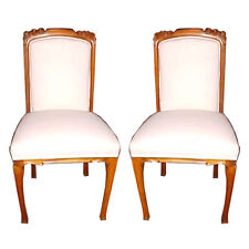 Pair of Art Nouveau Side Chairs, France 1900-1950 #5230