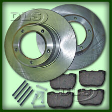 """RANGE ROVER """"CLASSIC"""" `89 on VENTED FRONT BRAKE DISC AND PAD SET"""