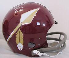 SAM HUFF Signed Washington Redskins TK FS HOF 82 Full Size Suspension Helmet