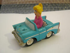 "Kids Club Burger King Promotion Betty spring pull-back car, 3"" g cond (Eb17)"