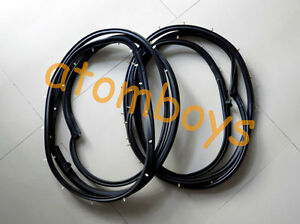 MAZDA B SERIES B2000 B2200 B2600 PICKUP 2 DOOR SEAL RUBBER WEATHERSTRIP 86 87 98