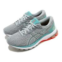 Asics GT-1000 9 D Wide Grey Turq White Women Running Shoes Sneakers 1012A695-024