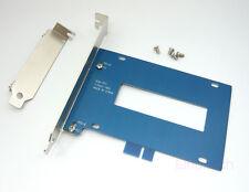 """2,5"""" HDD / SSD auf PCI & PCI-e Einbaurahmen Halterung auch für HTPC, Low Profile"""