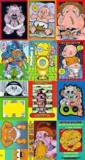 GARBAGE PAIL KIDS SERIES 21ST ACTIVITY CARD SET(12)ANS6
