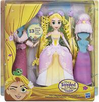 Hasbro Disney Princesses : Poupée Raiponce & ses coiffures - 13 pièces - Neuf