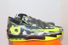 Nike KD VI GS Grade School Size 7Y Camo DS W Receipt Kevin Durant
