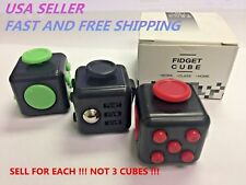Dice Magic FIDGET CUBE Desk Toy Stress Anxiety Relief Focus Gift Adult Kid