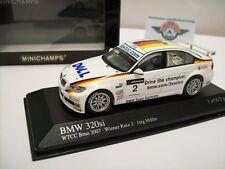 "BMW 320si (E92) #2 ""WTCC Brno 2007"", Weiß, Minichamps 1:43, OVP"