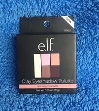 Elf Cosmetics Clay Eyeshadow Palette - Saturday Sunsets - MELB STOCK