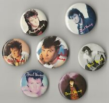 Vintage Paul Young Pin collectible 80's pop rock pinback button badge Mtv band