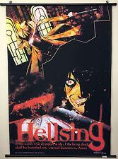 "Hellsing, Alucard, RARE Vintage, 30"" x 44"" LARGE Anime Wall Scroll, Manga poster"