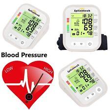 Digital Upper Arm Blood Pressure Monitor Portable Meter 180 Memory Intellisense