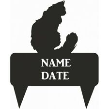Maine Coon Rectangular Memorial Plaque