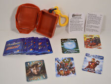 "2012 Iron Man 3.5"" Backpack Clip-On Helmet Mask & 48 Mini Card Game Deck"