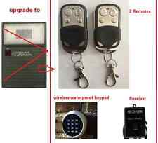 Gliderol Garage Door Remote Glidermatic Deluxe Motors 2 remotes wireless keypad
