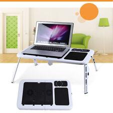 Klapptisch Laptoptisch Notebooktisch Betttisch Laptop-Lüfter Höheverstellbar ZI6